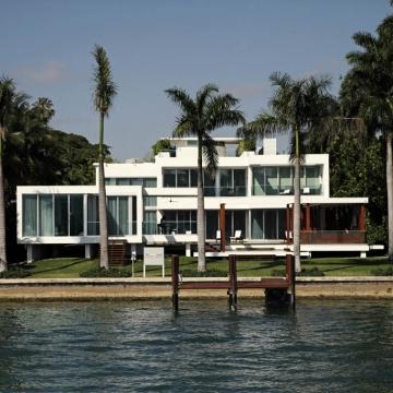 Miami vista dal mare