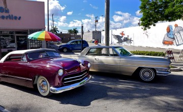 Classic car Hollywood